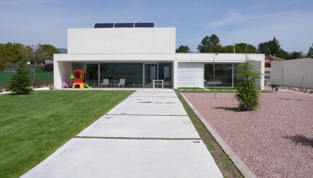 Easy house ingeco casa facil prefabricados hormigon - Vivienda modular hormigon ...